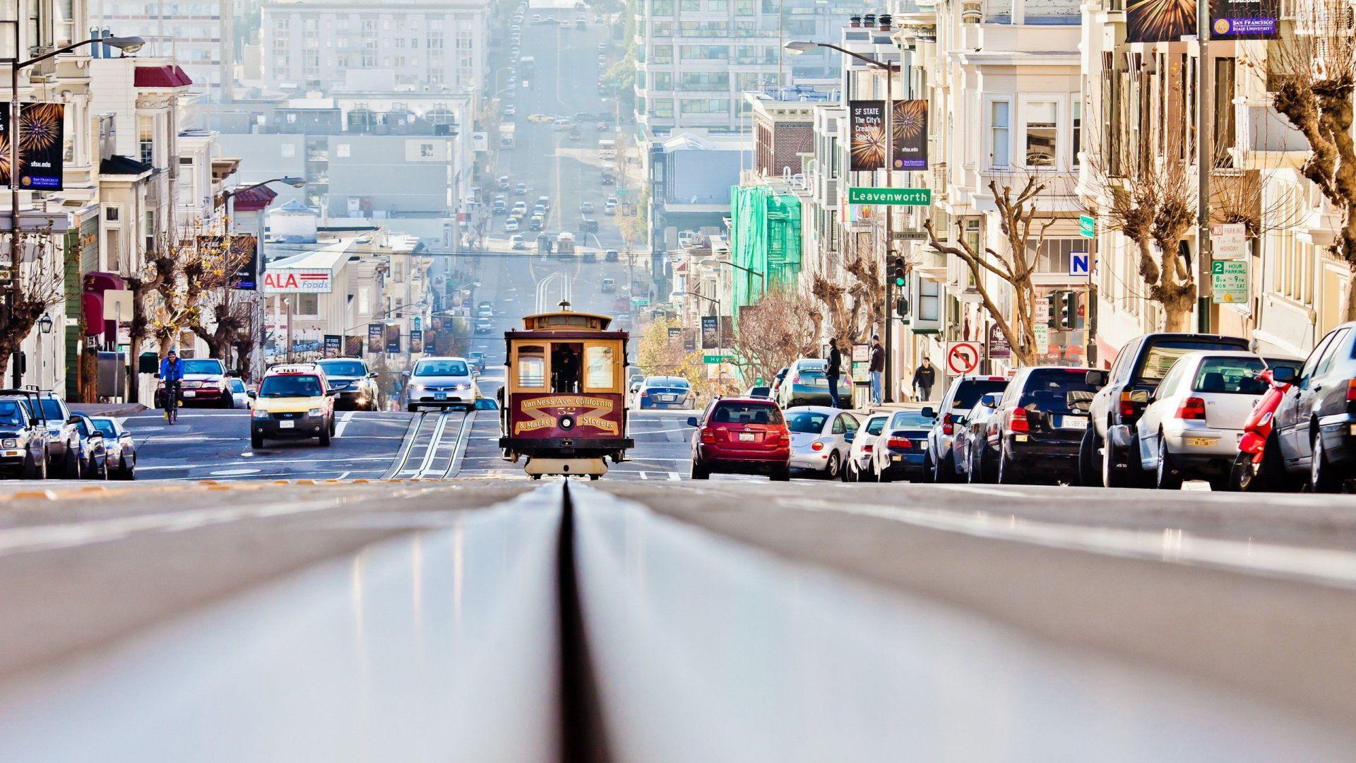 Bondinho de Sao Francisco California