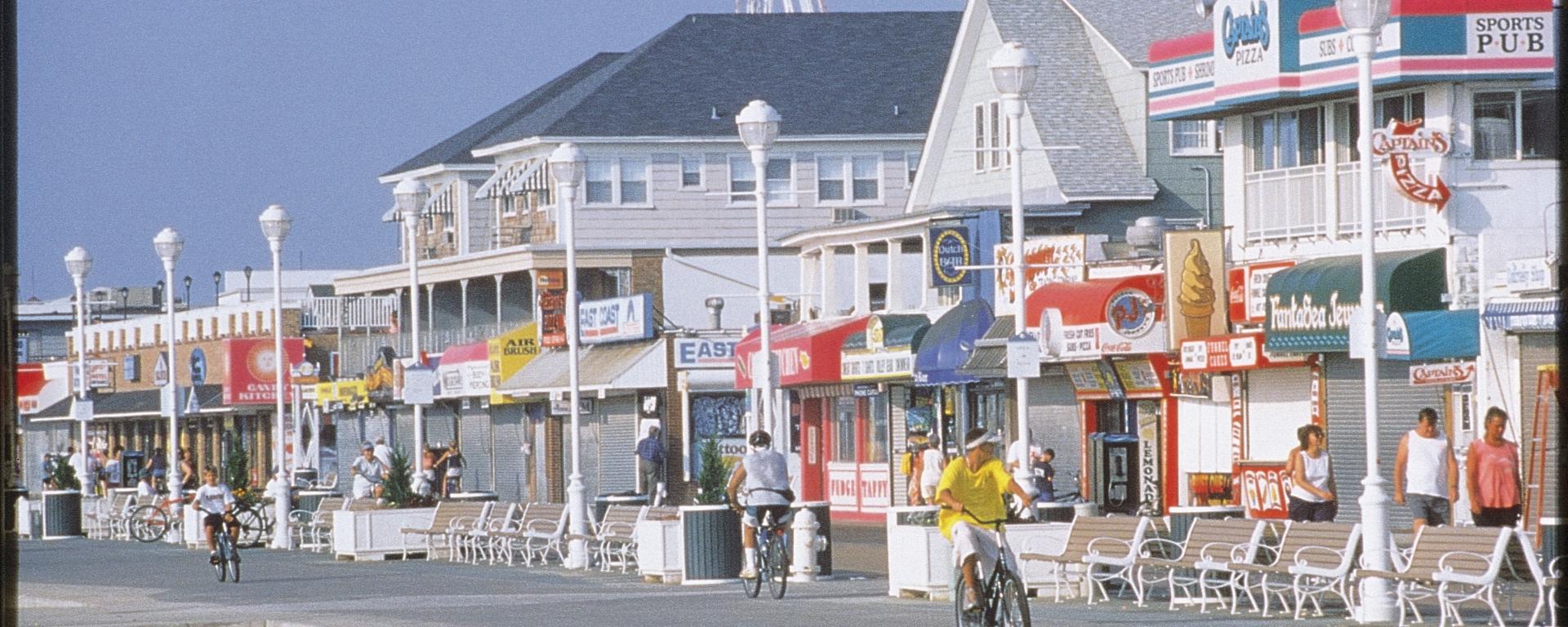 ocean city boardwalk delaware
