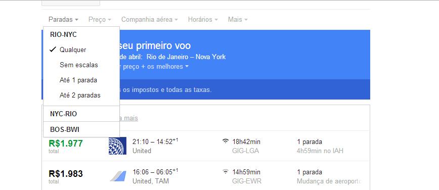 Dicas para comprar passagem aérea: Conheça o Google Flights (6/6)