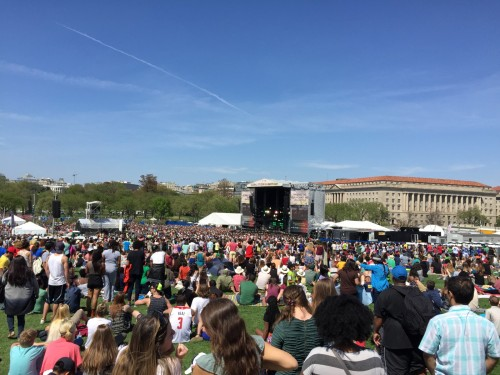 Earth Day em Washington