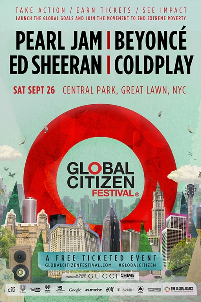 Global Citizen 2015